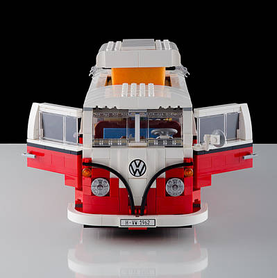 1962 Vw Lego Bus Art Print by Noah Katz
