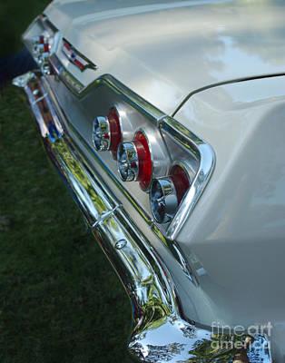 1963 Chevy Impala Taillights Art Print