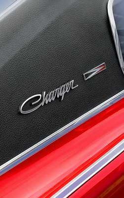 Black Top Digital Art - 1967 Dodge Charger by Gordon Dean II