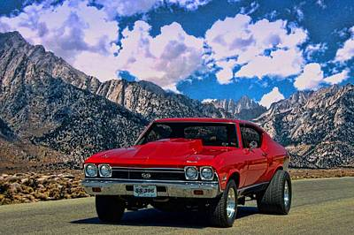 Photograph - 1968 Chevelle Super Sport by Tim McCullough
