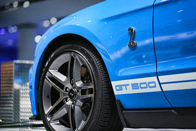2012 Ford Mustang Gt 500 Original by Gordon Dean II