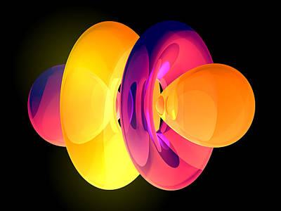 4fz3 Electron Orbital Art Print
