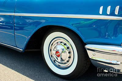 57 Chevy Bel Air 4 Art Print by Mark Dodd