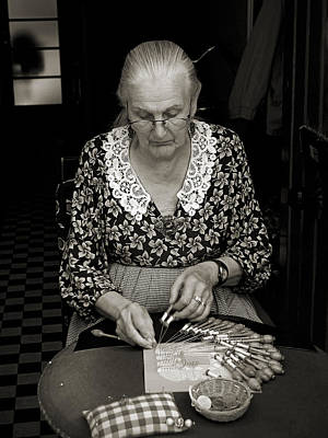 Photograph - A Lacemaker In Bruges by RicardMN Photography