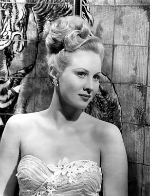 A Song Is Born, Virginia Mayo, 1948 Art Print