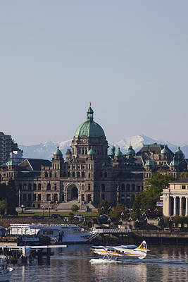 A View Of The Legislative Building Art Print by Taylor S. Kennedy