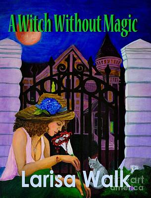 Digital Art - A Witch Without Magic by Kristen R Kennedy