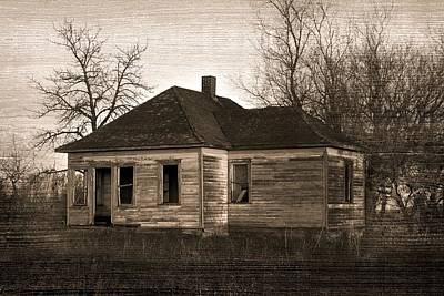 Haunted House Photograph - Abandoned Farm House by Richard Wear