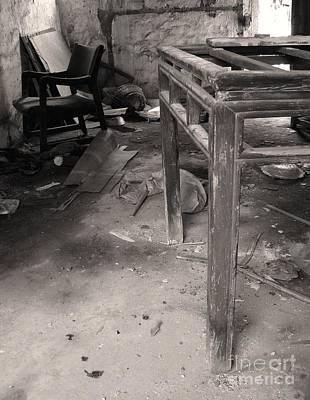 Mess Photograph - Abandoned House by Yali Shi