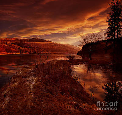 Howden Reservoir Photograph - Abbey Lane by Nigel Hatton