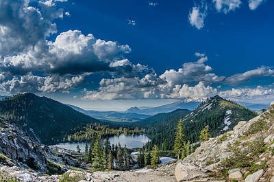 Photograph - Above Castle Lake by Greg Nyquist