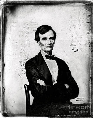 Abraham Lincoln, 16th American President Art Print by Photo Researchers