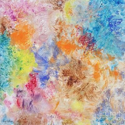 Painting - Abstract 17 by Alex Rahav