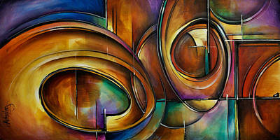 Basic Painting - Abstract Design by Michael Lang