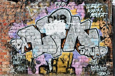 Vandalize Painting - Abstract Graffiti  by Yurix Sardinelly