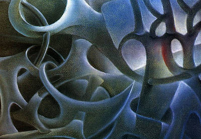 Painting - Abstraction 1984 by Glenn Bautista