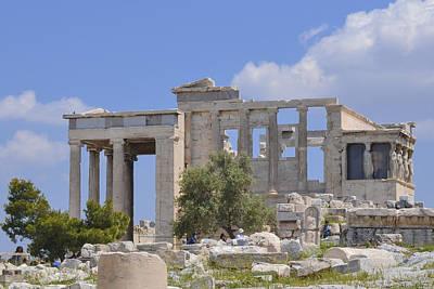 Photograph - Acropolis by Theodore Jones