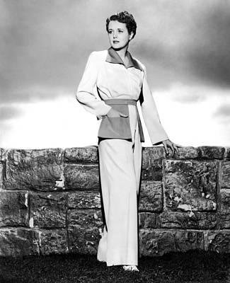 Pant Suit Photograph - Across The Pacific, Mary Astor, 1942 by Everett