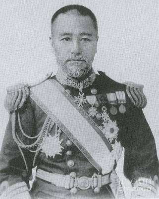 Togo Photograph - Admiral Togo by Photo Researchers