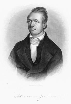 Adoniram Judson (1788-1850) Art Print by Granger
