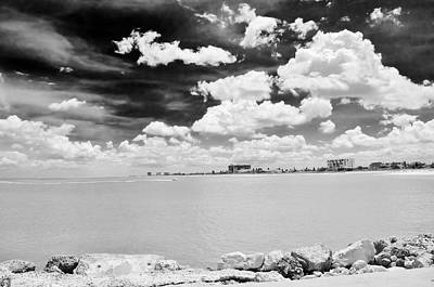 Fort Pierce Inlet Photograph - After Irene by Don Youngclaus