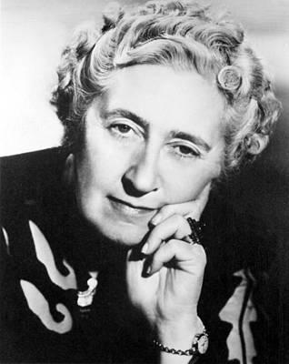 1950s Fashion Photograph - Agatha Christie 1890-1976 British by Everett