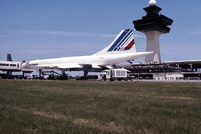 Air France Concorde Original by Jan W Faul