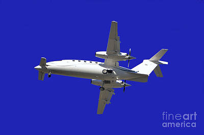Airplane Art Print by Mats Silvan