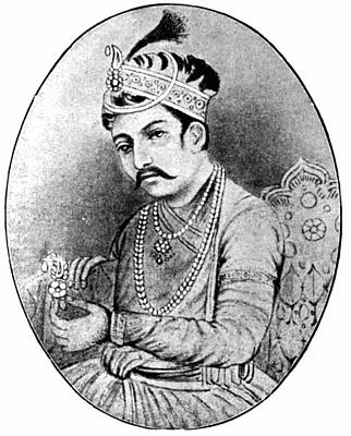 Photograph - Akbar The Great (1542-1605) by Granger