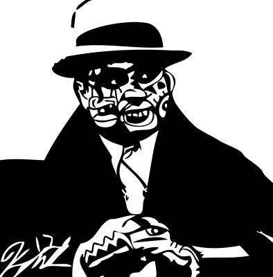 Kamonikhem Digital Art - Al Capone by Kamoni Khem