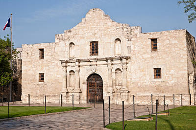 Photograph - Alamo by Johnny Sandaire