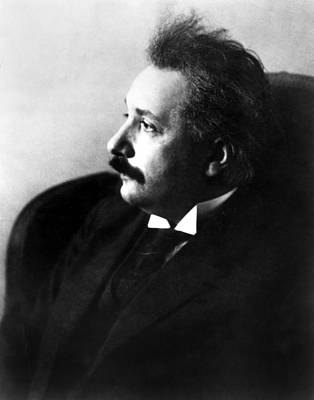 Einstein Photograph - Albert Einstein by Everett