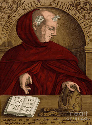 Albertus Magnus, Medieval Philosopher Art Print by Science Source