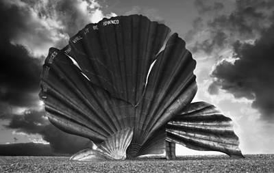 Aldeburgh Scallop Art Print by Darren Burroughs