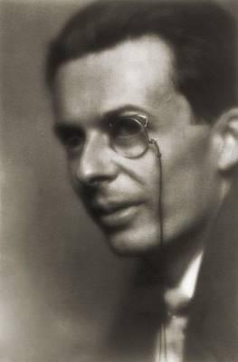 Aldous Huxley Photograph - Aldous Huxley 1894-1963, English Author by Everett