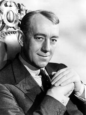 Hands Folded Photograph - Alec Guinness, C. Late 1940s by Everett
