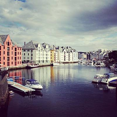 Landscapes Wall Art - Photograph - Alesund - Norway by Luisa Azzolini
