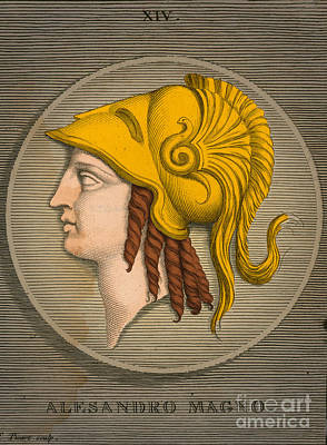 Alexander The Great, Greek King Art Print by Science Source