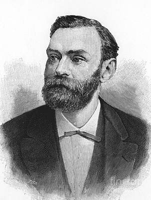 Alfred Nobel, Swedish Chemist Print by Science Source