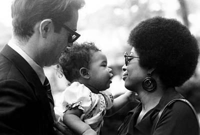 Alice Walker With Her Daughter Art Print