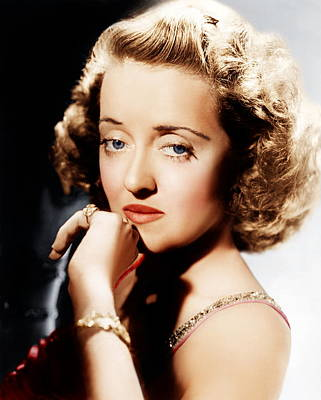 Incol Photograph - All This, And Heaven Too, Bette Davis by Everett