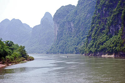 Photograph - Along The Li River by Harvey Barrison