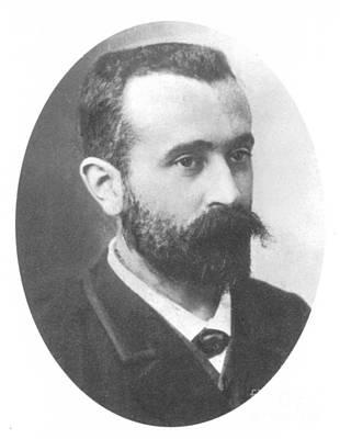 Alphonse Bertillon, French Biometrician Print by Science Source