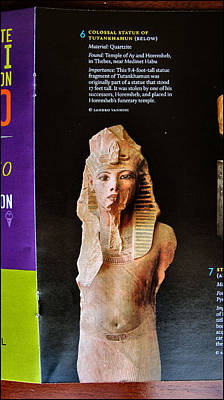 Photograph - Amenhotep Iv 2010 by Glenn Bautista