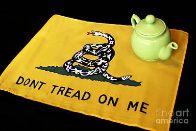 American Tea Party Art Print by John Van Decker
