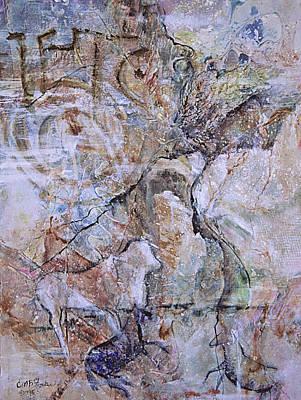 Ancient Messages No.  Art Print