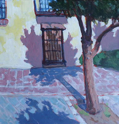 Wall Art - Painting - Andalucia Spain by Edward Abela