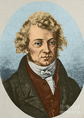 Andre Marie Amp�re, French Physicist Print by Science Source