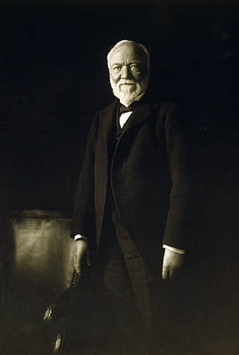 Andrew Carnegie, April 5, 1913 Art Print by Everett