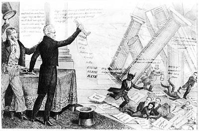 Andrew Jackson Cartoon Print by Granger